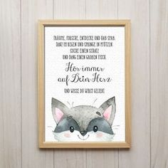 Listen to your heart art print raccoon saying picture print children& room . Listen to your heart art print raccoon saying picture print nursery decoration Heart Art, Kid Beds, Print Pictures, Art Music, Pin Collection, Picture Quotes, Diy Art, Nursery Decor, Hand Lettering