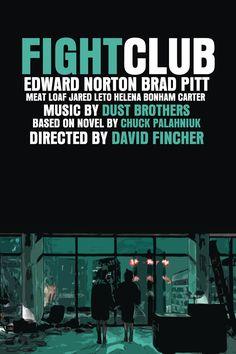 Fight Club Movie Poster by Giancarlo Semeraro