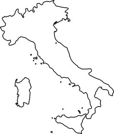 Map of Italy printable  Girl Scouts  Pinterest  Italy Free