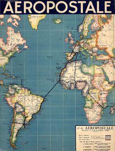 Expositions » Aéropostale : la Lettre, une aventure de haut vol