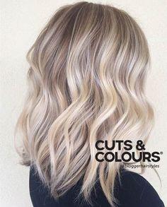 Blond Ice Effect   Lichte frisse haarkleur   Warme gloed