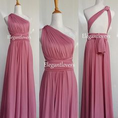 Check out this item in my Etsy shop https://www.etsy.com/uk/listing/274584216/convertible-dress-dusty-pink-wedding