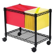 File Carts – Ultimate Office Extra Storage Space, Storage Spaces, Mobile File Cabinet, Hanging File Folders, Shelf Supports, Storage Cart, Garage Storage, Hanging Files, Futuristic Furniture