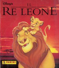 Il re leone, 1994; Panini, Modena; Album per la raccolta di 232 figurine