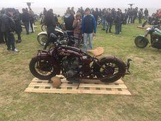 Exposicion motos customizadas.San Isidro, Buenos Aires. Argentina.