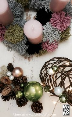 christbaumkugel rentier 2er set rudolf hoptimist pinterest basteln weihnachten diy. Black Bedroom Furniture Sets. Home Design Ideas