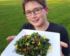 Yard Salad at www.tiffanyhaugen.com