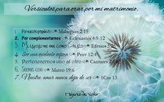 Versículos para orar por el matrimonio #Matrimonio #Oraciones #Hombres