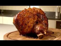 Sticky chilli jam glazed ham with crunchy slaw - delicious. magazine