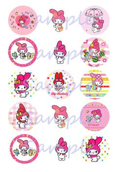 My Melody precut Images (30)