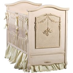 Bonne Nuit Cherubini Crib (Pink Versailles) from PoshTots