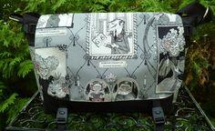 Ghastlie Gallery Lynx Deluxe Messenger Bag by Zoe's Bag Boutique
