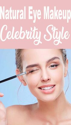 Natural Eye Makeup Celebrity Style Hazel Eye Makeup, Smokey Eye Makeup, Eyeshadow Makeup, Makeup Eyes, Eyeshadow Tutorial Natural, Natural Eyeshadow, Fresh Makeup Look, Simple Makeup, Beauty Skin