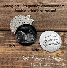 golf themed baby pregnancy announcement oh baby. Black Bedroom Furniture Sets. Home Design Ideas