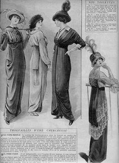 1913 Fashions for Ladies