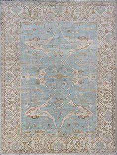 eCarpetGallery Hand-knotted Royal Ushak 9-Feet 2-Inch by 12-Feet 0-Inch Wool Rug, Light Blue eCarpet Gallery http://www.amazon.com/dp/B015NJUP3Y/ref=cm_sw_r_pi_dp_.Wxcxb07EDG7K