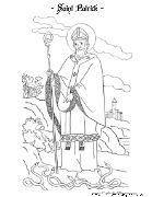 Saint Patrick Coloring Page | Catholic Playground