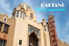 Oakland, California - crime capital of California or hip arts community? Find out how it's a bit of both. #oakland #california #bayarea #artdeco