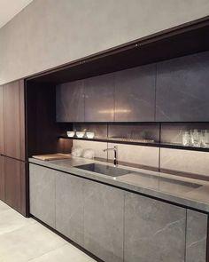 inspiring modern luxury kitchen design ideas 21 - New Site Luxury Kitchen Design, Kitchen Room Design, Luxury Kitchens, Home Decor Kitchen, Interior Design Kitchen, Kitchen Furniture, Cool Kitchens, Kitchen Ideas, Kitchen Designs