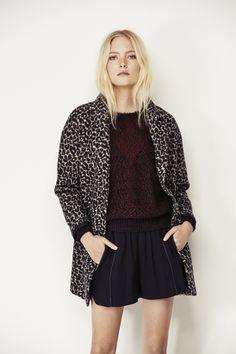 Manteau léopard pour Femme IKKS #FW15 #Fashion