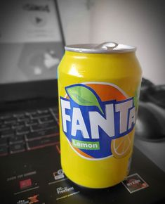 First time trying this and it's nice! Defo having again! Fanta Can, First Time, Lemon, Canning, Twitter, Drinks, Nice, Photos, Instagram