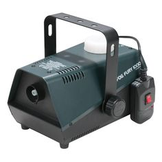 1411100006 - 650W Professional Fog Machine ‐ New Item ‐ LED Heating Indicator ‐ Warm‐up time: 4 min. ‐ Internal fog fluid tank: 0.9 Liter ‐ Fog Output: 3500 (cu.ft/min) ‐ ADJ's Electronic Thermo Sensing (ETS) technology