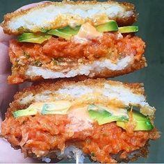 18 new sushi ideas you'll crave all summer! Sushi Recipes, Brunch Recipes, Baby Food Recipes, Breakfast Recipes, Cooking Recipes, Sandwich Recipes, Roppongi, Restaurant Recipes, Gourmet