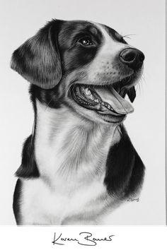 Dog Pencil Drawing, Dog Drawings, Pencil Art, Animal Drawings, Pencil Drawings, Graphite Art, Custom Pencils, Custom Art, Pet Portraits