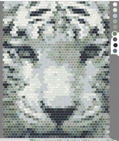 Тигр | biser.info - всё о бисере и бисерном творчестве