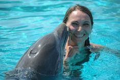 I've been kissed by a dolphin <3