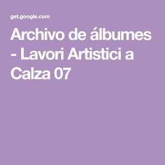 Archivo de álbumes - Lavori Artistici a Calza 07