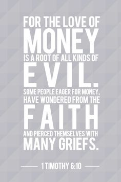Check out these 5 #Bible verses about money that every #Christian needs to know!