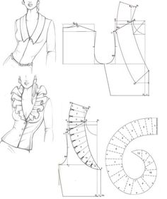 Sewing Techniques 799881583797048021 - Sewing inspiration: collars Source by Sewing Lessons, Sewing Hacks, Sewing Tutorials, Techniques Couture, Sewing Techniques, Dress Sewing Patterns, Clothing Patterns, Fanni Stitch, Costura Fashion