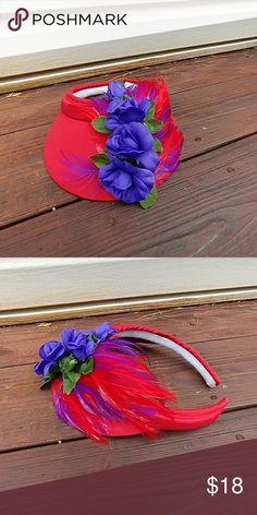 Red hat lady visor Visor no brand Accessories Hats