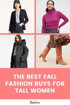 Tall woman struggles are real but they don't have to be, we're delivering the key pieces made just for tall bodies that you need in your wardrobe. #fashion #tall #women Tall Women, Autumn Fashion, Kimora Lee Simmons, Women Lifestyle, Go Shopping, Color Trends, Dress To Impress, Bodies, What To Wear