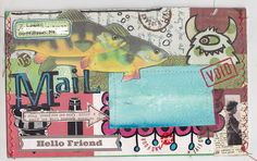 Mail Art4 by MadameO, via Flickr