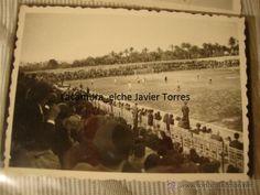 FOTOGRAFIA INEDITA DE FUTBOL PARTIDO EN EL CAMPO ALTABIX, CON SU NEGATIVO ORIGINAL AÑOS 40