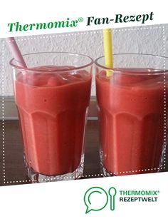 Himbeer-Bananen-Karotten-Mango-Orangensaft-Smoothie von Bambi4188. Ein Thermomix ® Rezept aus der Kategorie Getränke auf www.rezeptwelt.de, der Thermomix ® Community.