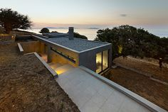 House in Kea, Greece, by Marina Stassinopoulos and Konstantios Daskalakis • Design Father