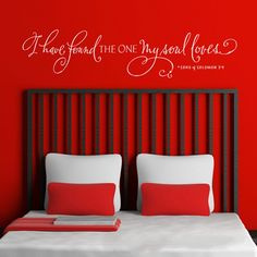'I have found the one' Wall Decal from Picsity.com