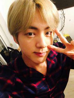 BTS Jin (selca/selfie)