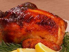 Honey Spiced Roasted Chicken Recipe : Patrick and Gina Neely : Food Network - FoodNetwork.com