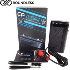 Boundless CF Hybrid Dry Herb/eLiquid/Wax/Thick Oil Vaporizer Available at Vapepensales.com #Vapepensales