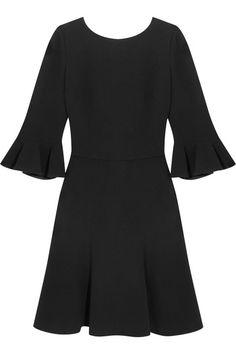 Dolce & Gabbana - Open-back Stretch-crepe Dress - Black - IT44