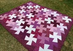 A Twister Quilt Tutorial - Made without the Special Ruler