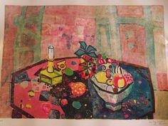 Paul Augustin Aïzpiri - Lithographie, épreuve d'artiste - Nature morte P1370 XL | eBay