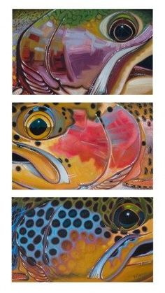 Trout Trio – Brown, Brook, Bow
