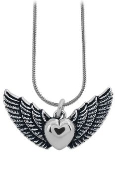 Heart Wing Necklace - Jewellery