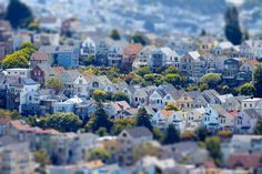 San Francisco tilt-shift by Chris Dueringer on 500px