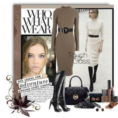 """Sweater dress great for fall... """"Touch of Class"""" by butterflykisses on Polyvore"""
